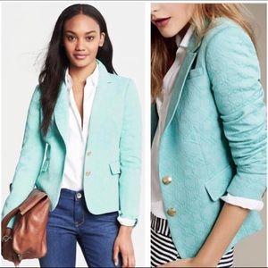 BANANA REPUBLIC | Bay Breeze Textured Blazer Sz. 2